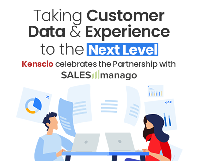 SALESmanago LLC and Aghreni Technologies Pvt Limited (Brand – Kenscio), India announces Marketing & Support Services Partnership to offer CDXP