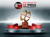 First Award of 2018 12th INDIA Digital Summit